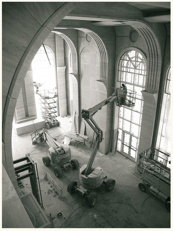 Great Hall Under Construction