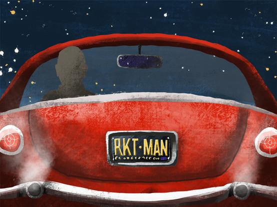 Rocket Man Scene
