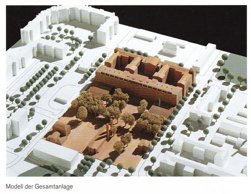 Krankenhause, Prenzlauerberg - Massing Model