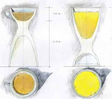 "Concept Design for Rokus Glass ""You and Me"""