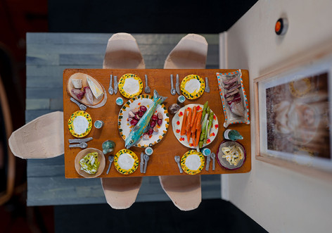 Our Dining Room - for Interior Design Magazine