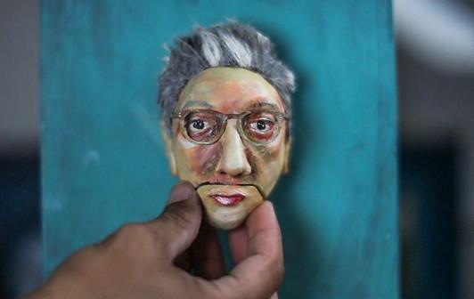 Talking Head (Self-Portrait)