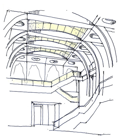 Great Hall Concept Sketch