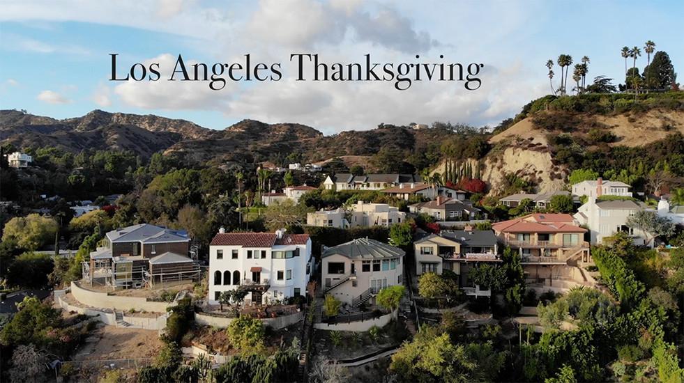 Thanksgiving in Los Feliz
