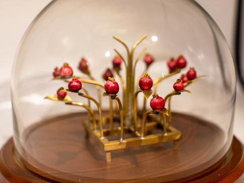 Miniature Pomegranite Tray