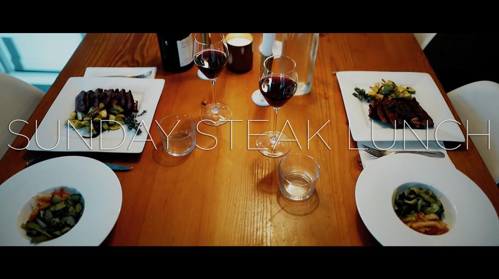 Sunday Steak Lunch