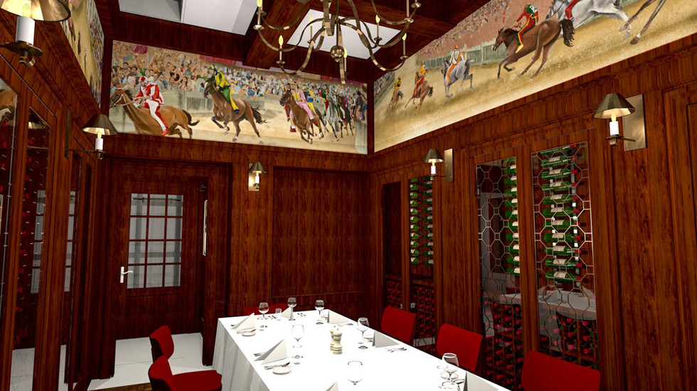 Musso and Frank Grill - Palio Wine Room