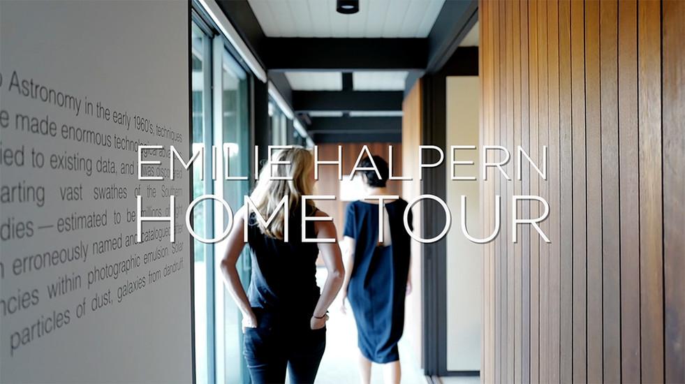 Emilie Halpern Home Tour