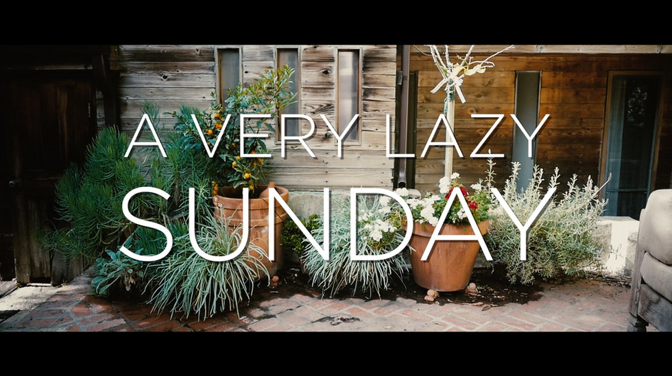 A Very Lazy Easter Sunday