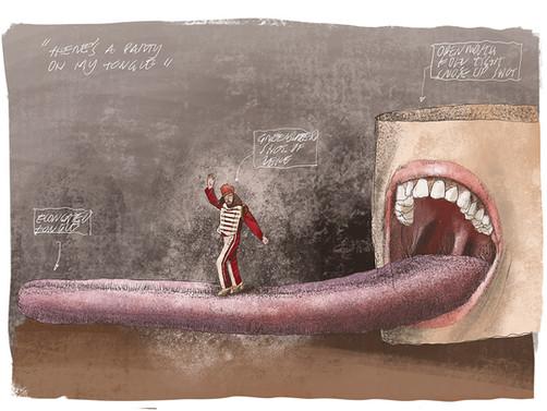 Zeke Concept Sketch