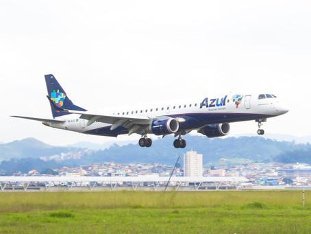 Mossoró agora conta com voos regulares da Azul