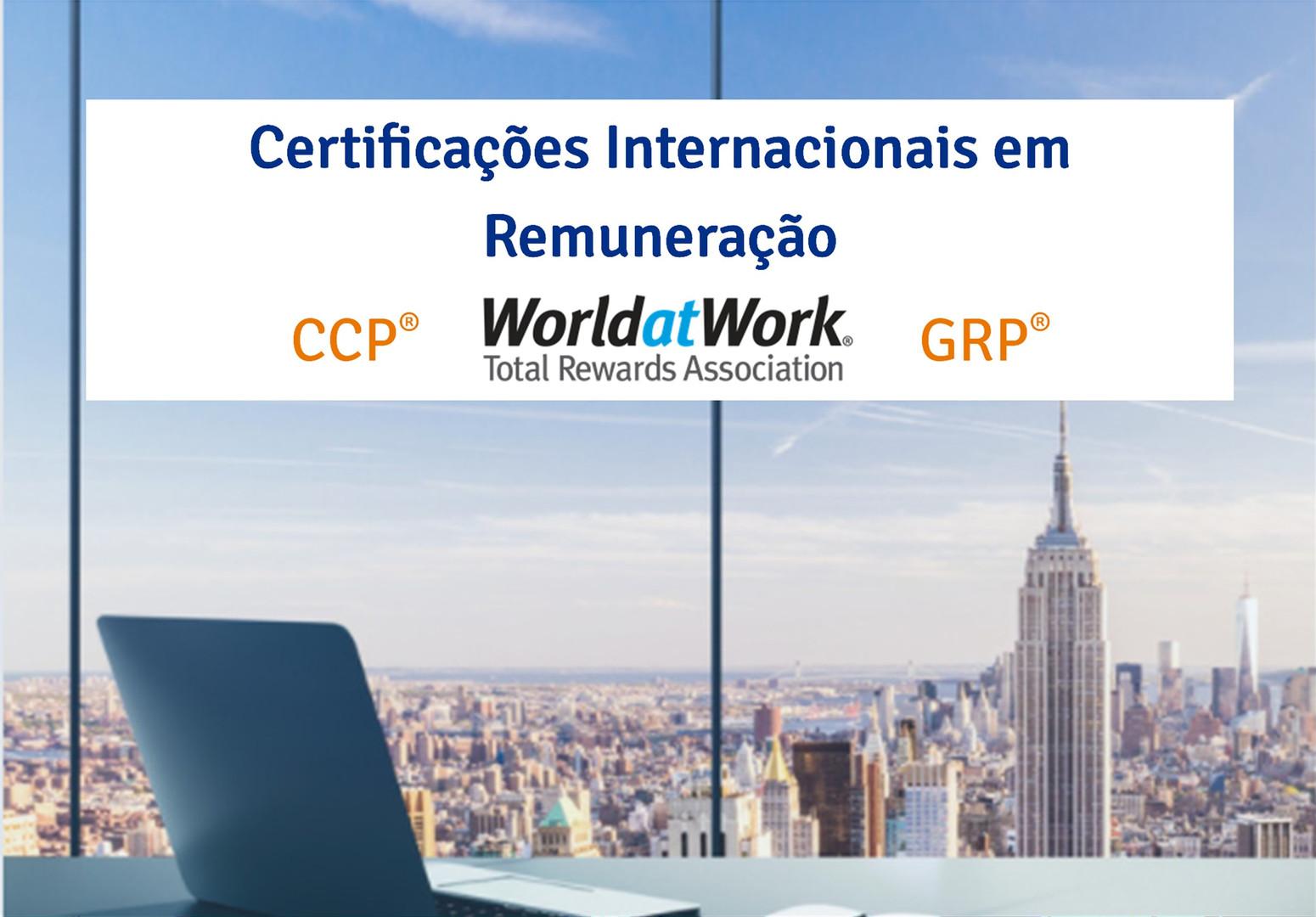 Certificações Internacionais em Remuneração
