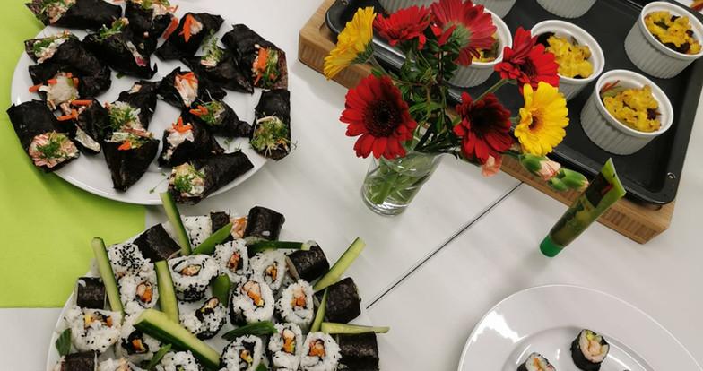 Sushi-Kochkurs Volkshochschule Dresden