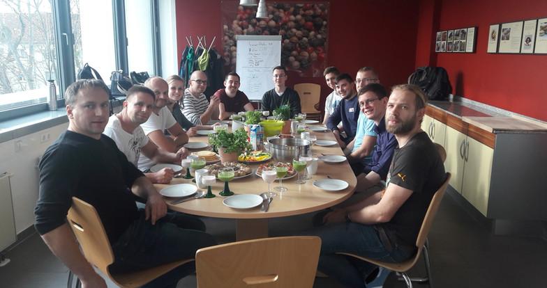 Gesundes Frühstück mit der Stadtverwaltung, Volkshochschule Dresden