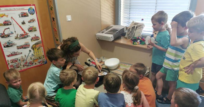 Kindergartenaktion Ikk die kleinen stark machen