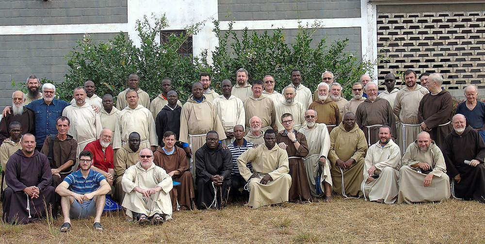 Frères capucins en mission au Congo