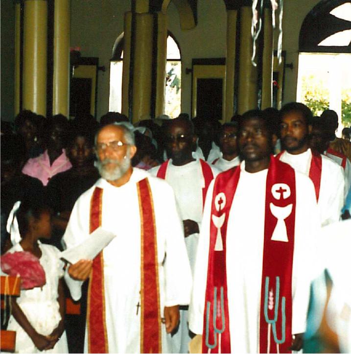 Messe à Corail, en 1987.