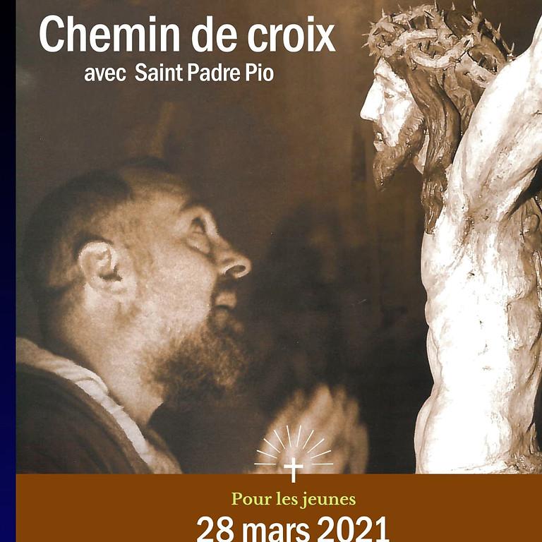 Chemin de croix avec Saint Padre Pio