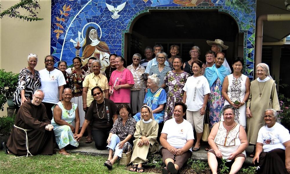 Frères en mission en Polynésie française