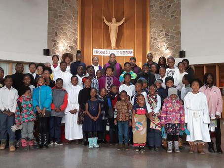 Messe de jeunes à la paroisse Saint Michel  (Montréal)
