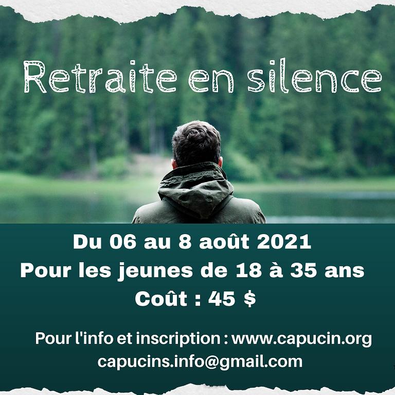 Le silence n'est pas un acte de pénitence mais un besoin vital