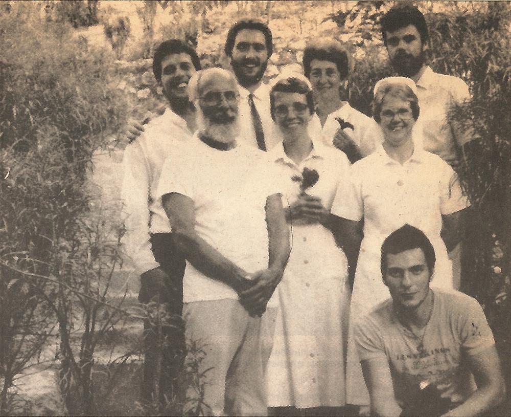 Photo de groupe à Corail.