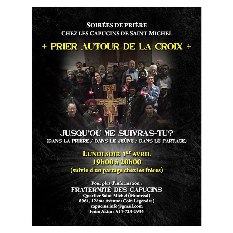 Priez autour de la Croix