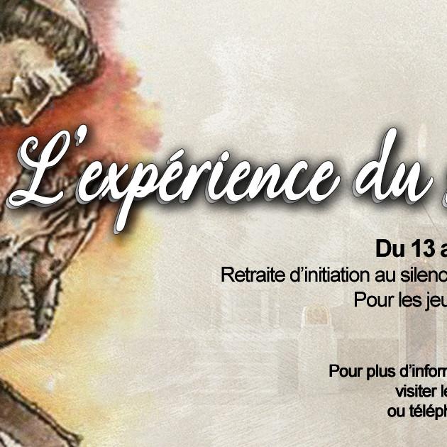 L'expérience du silence