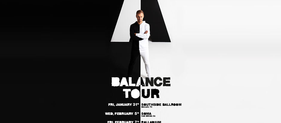 Armin van Buuren Returns to San Francisco: One Night, Two Massive Sets