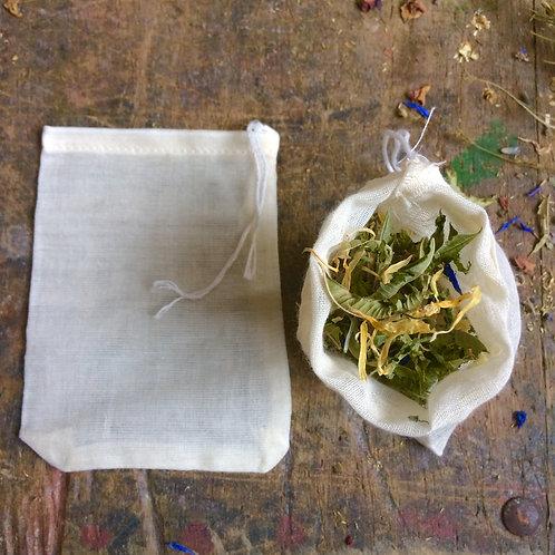 Reusable Cotton Tea Bags