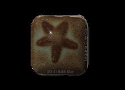 MS-41 Batik Blue