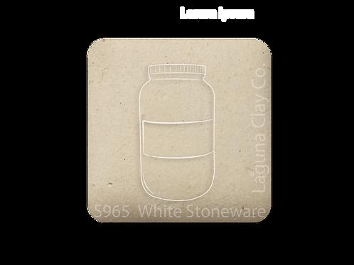 White Stoneware  S965
