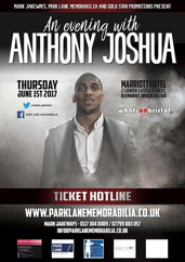Evening With Anthony Joshua