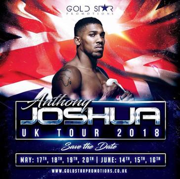 The Anthony Joshua  2018 UK Tour