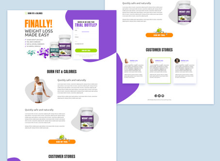 Buy Landing Page Templates: Sell your Products