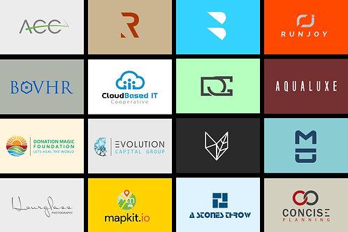 Modern minimalist business Logo $99
