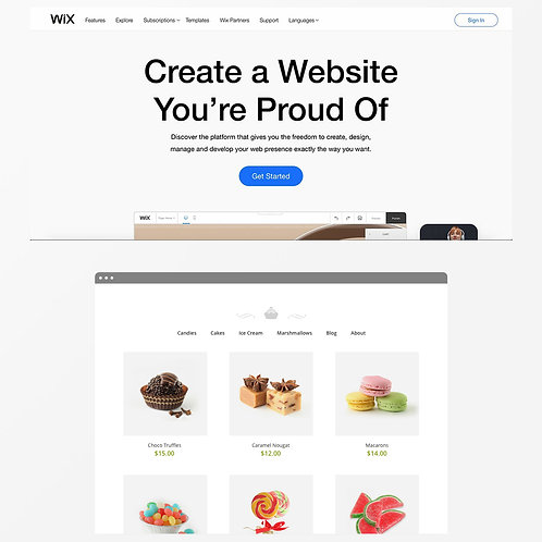 Wix eCommerce Online Store with up to 10 Products