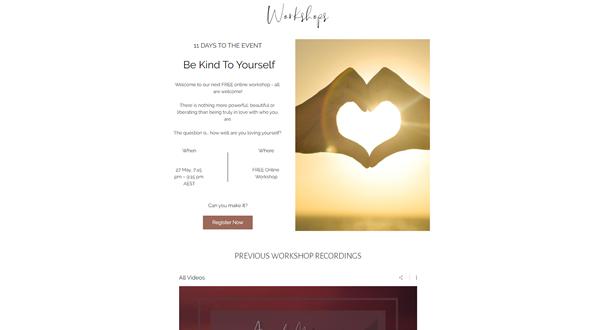 Online Live Workshops