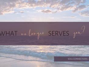 Are you willing to let go of what no longer serves you?