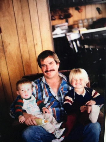 Josh and Jesse with their Dad Frank