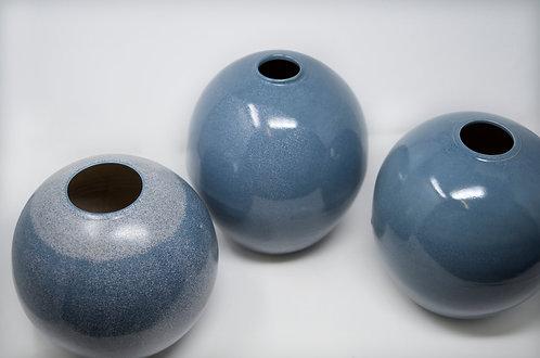 Stoneware moon jar