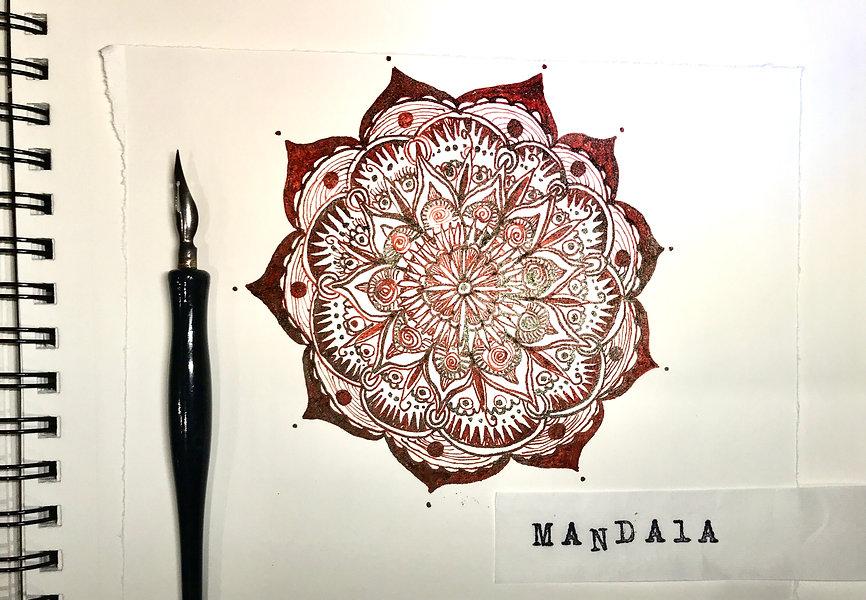 Mandala workshop image, (c) nicola Antho