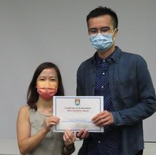 Congrats Vincent! Departmental RPg Retreat 2021