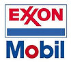 This is the logo for Exxon Mobil an American multinational oil and gas corporation headquartered in Irving, Texas, United States.