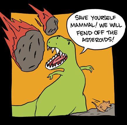 dinosaur mammal