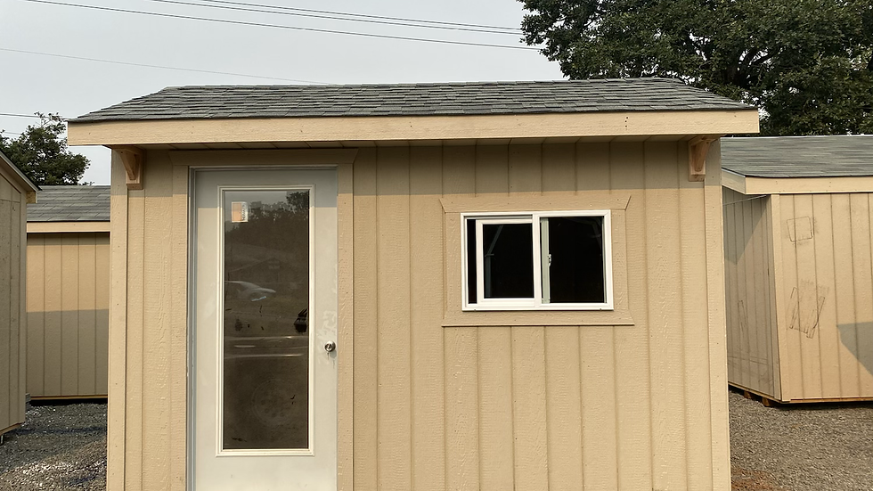 8x12 COURTYARD STYLE SHED