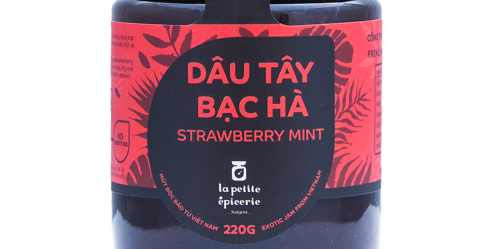 Strawberry-Mint 220g