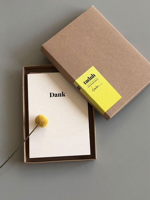 Postkartenset «Danke»