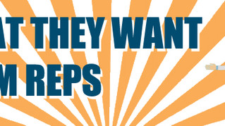 What physicians want from reps