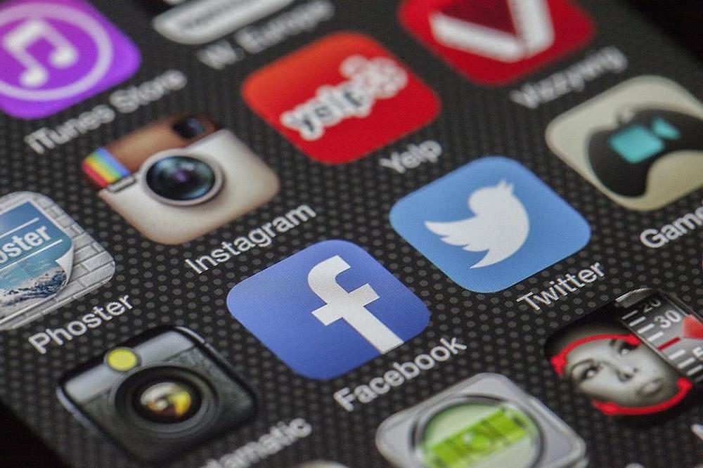 Designwebsite médias sociaux